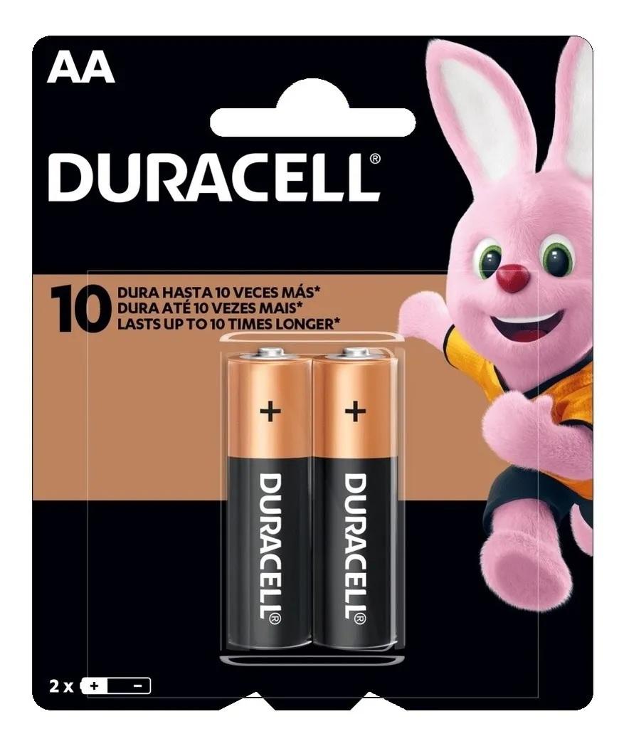 6 Pilhas AA Duracell Alcalina 3 Cartelas  C/2 Unidades