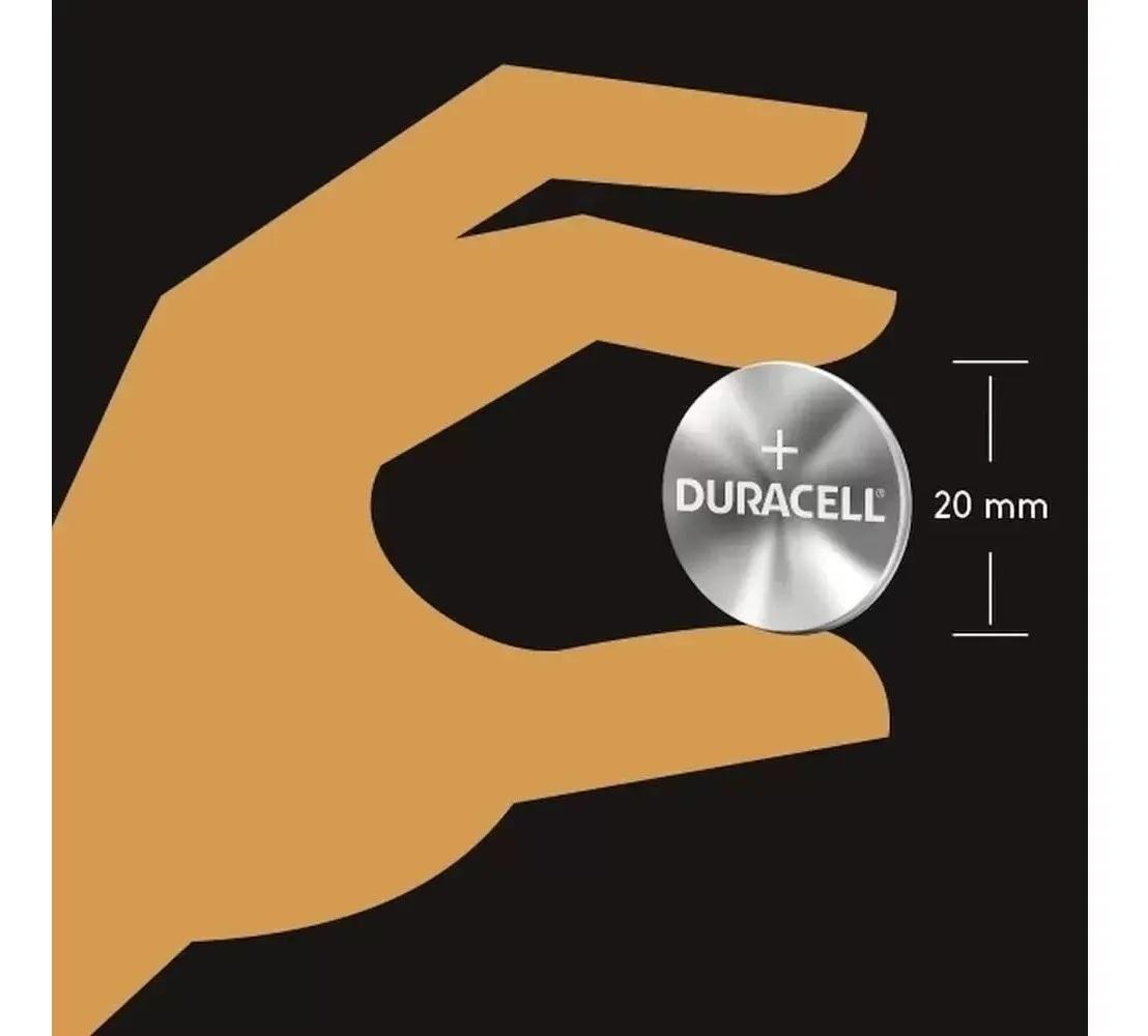 6 Pilhas Cr2025 Duracell 3v Lithium Bateria Moeda Cartela