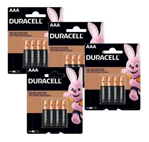 72 Pilhas AAA Palito Duracell Alcalina