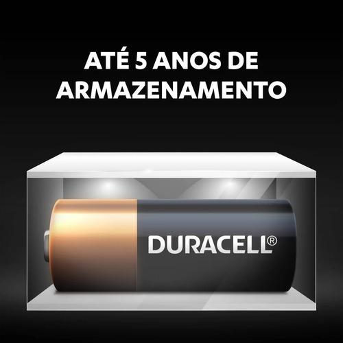 8 Pilhas Alcalina Duracell 12 Volts Mn21A23 Alarme Controle