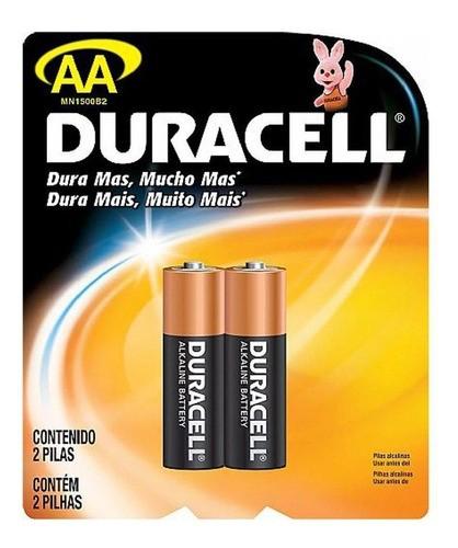 96 Pilhas Aa Duracell Alcalina Pequena 48 Cartelas C/ 2 Atacado