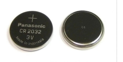 Bateria Cr2032 Panasonic 3v Moeda 5 Unid Botão