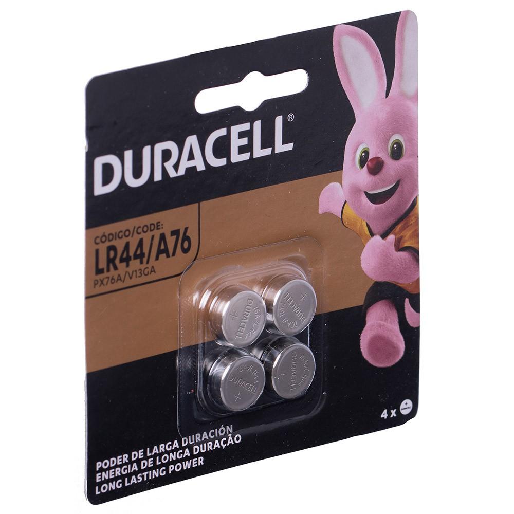 Bateria Duracell Lr44 12 Cartelas C/4 Unidades