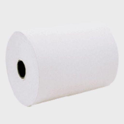 Bobina 1 Via 89x40 Offset Branca Caixa 30 Unidades