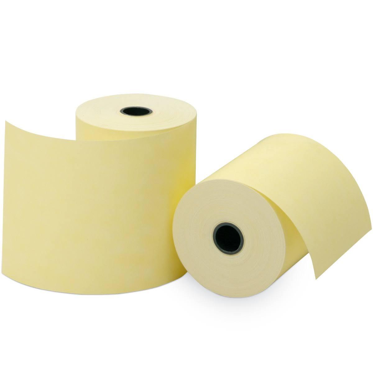 Bobina Térmica Amarela 80 x 40 Ecf Sat Pdv Cupom Caixa 90