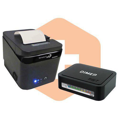 Combo SAT Fiscal DSAT 2.0 Dimep+Impressora MP2800TH Bematech