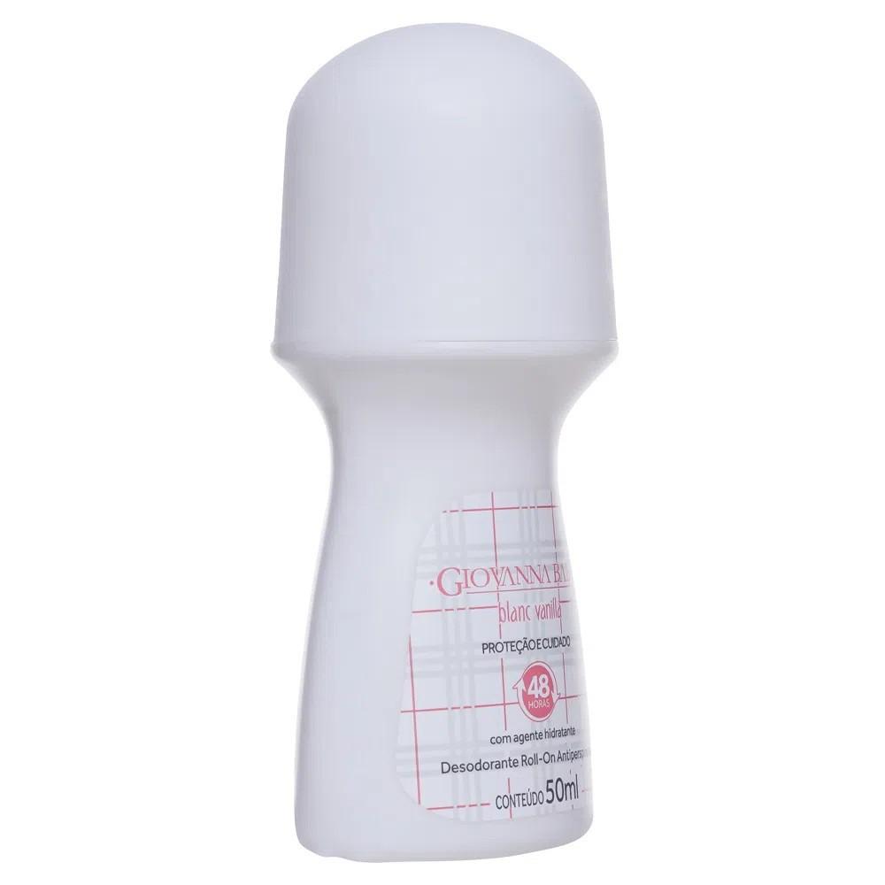 Desodorante Roll-on Giovanna Baby Blanc Vanilla 50ml Antiperspirante