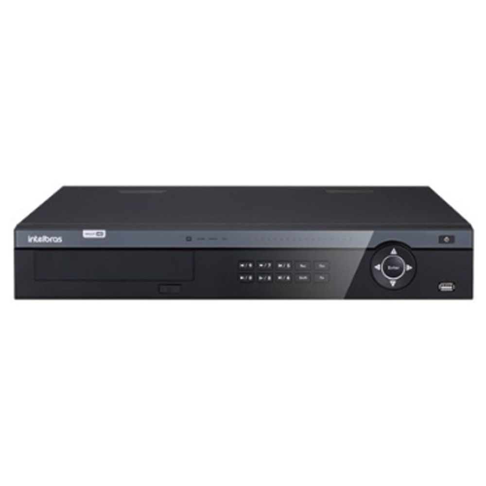 DVR Gravador MHDX 7116 Intelbras 16 Canais 4k HD 10TB Purple