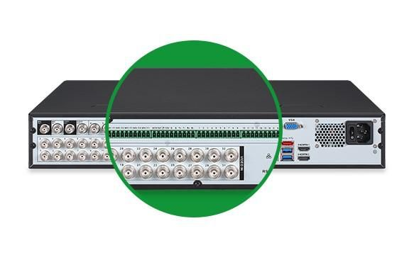 DVR Gravador MHDX 7132 Intelbras 32 Canais 4k HD 3 TB Purple
