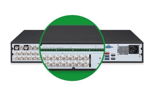 DVR Gravador MHDX 7132 Intelbras 32 Canais 4k HD 4 TB Purple