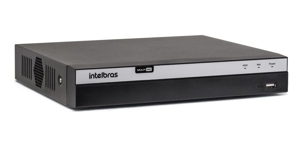 DVR Gravador MHDX 5108 Intelbras 08 Canais 4K HD 4 TB Purple