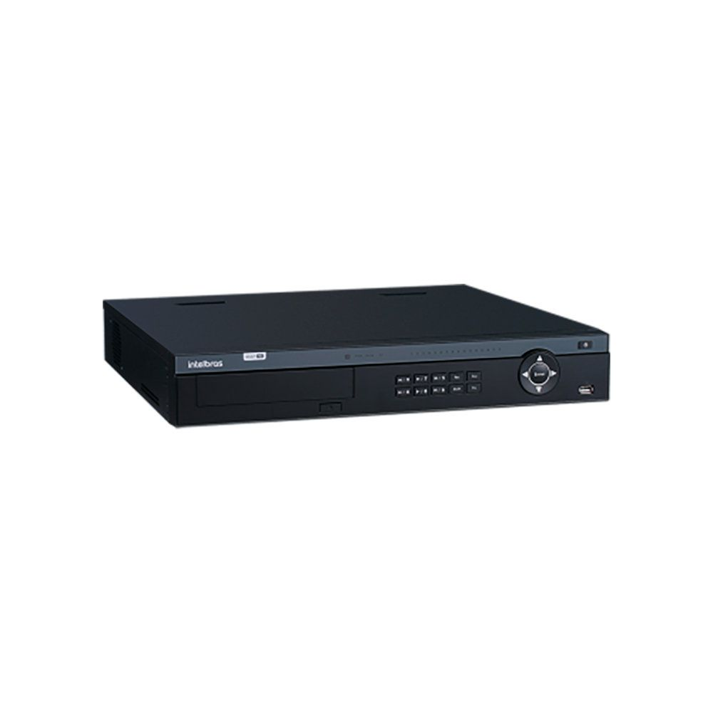 DVR Gravador MHDX 7116 Intelbras 16 Canais 4k HD 4 TB Purple