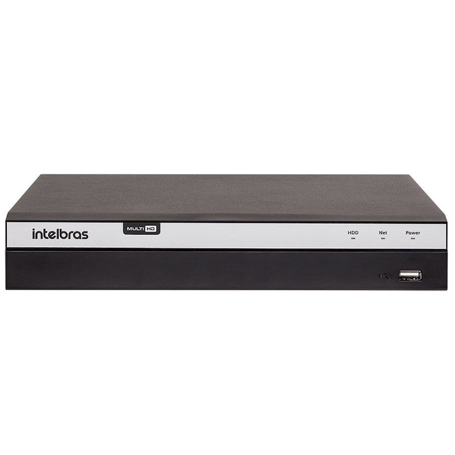 DVR Intelbras Full HD MHDX 3104 4 Canais IP HD 02 TB Purple