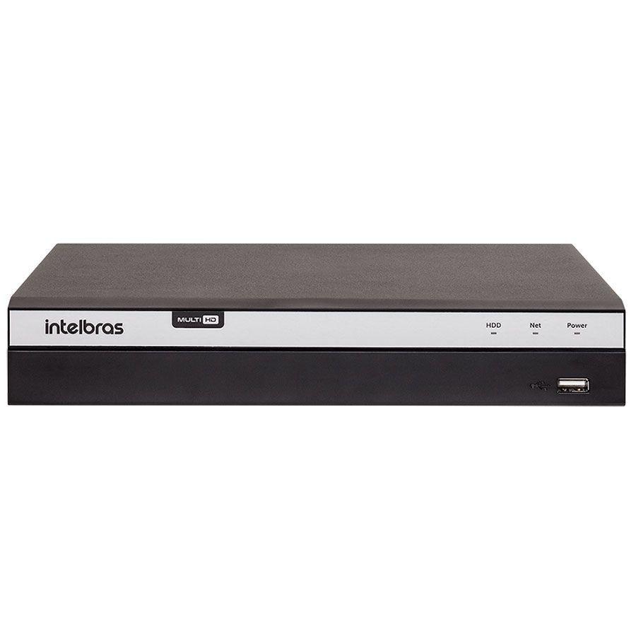 DVR Intelbras Full HD MHDX 3104 4 Canais IP HD 12 TB Purple