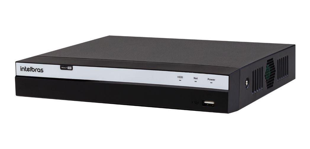 DVR Intelbras Full HD MHDX 3108 8 Canais IP HD 01 TB Purple