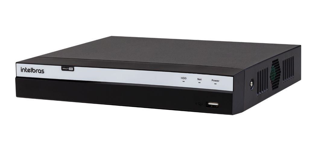 DVR Intelbras Full HD MHDX 3108 8 Canais IP HD 02 TB Purple