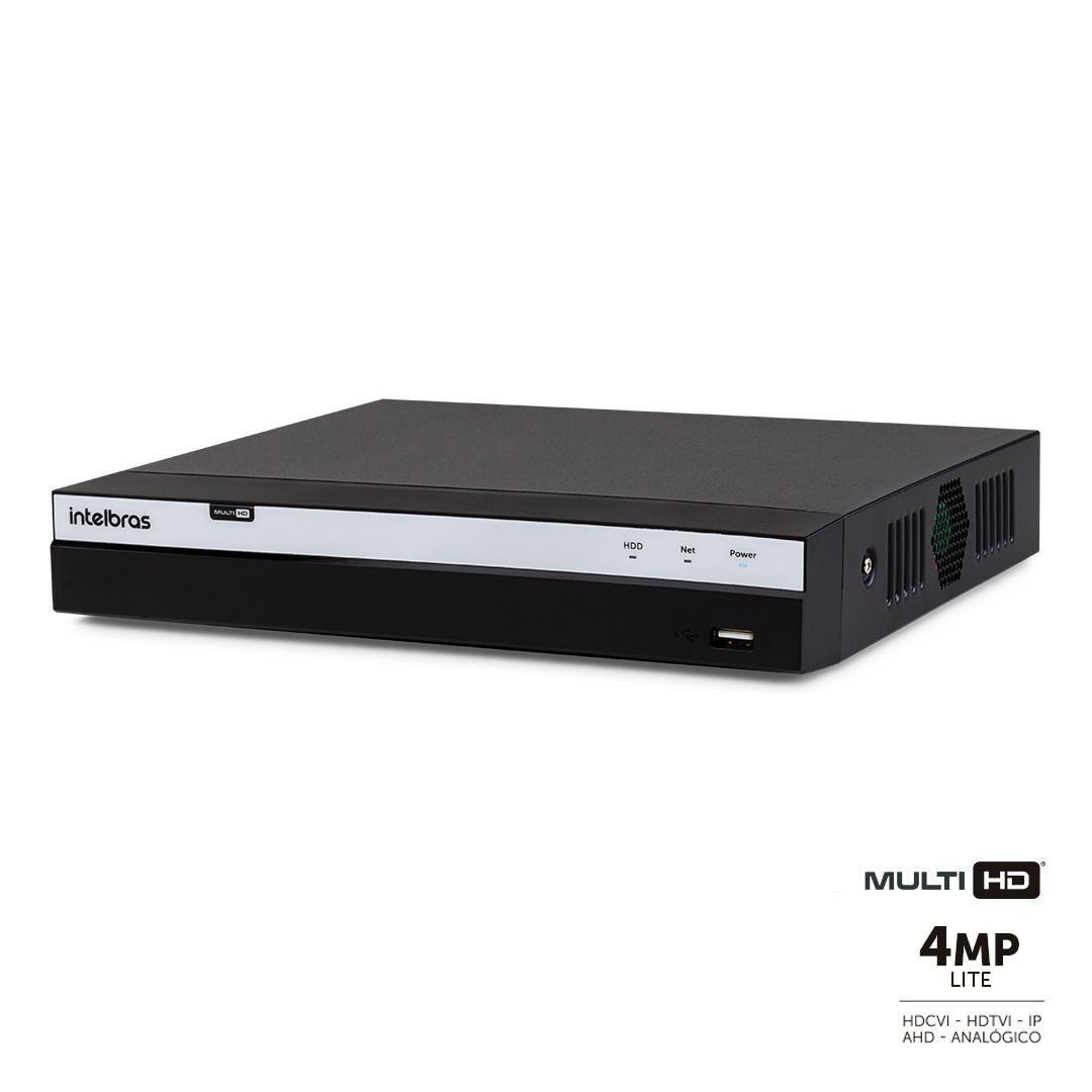 DVR Intelbras Full HD MHDX 3108 8 Canais IP HD 08 TB Purple