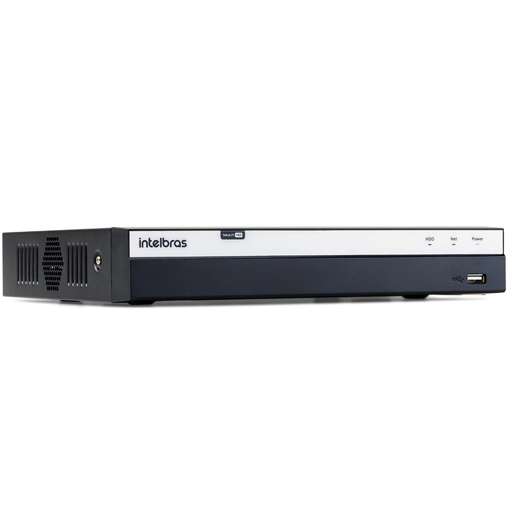 DVR Intelbras Full HD MHDX 3116 16 Canais IP HD 04 TB Purple