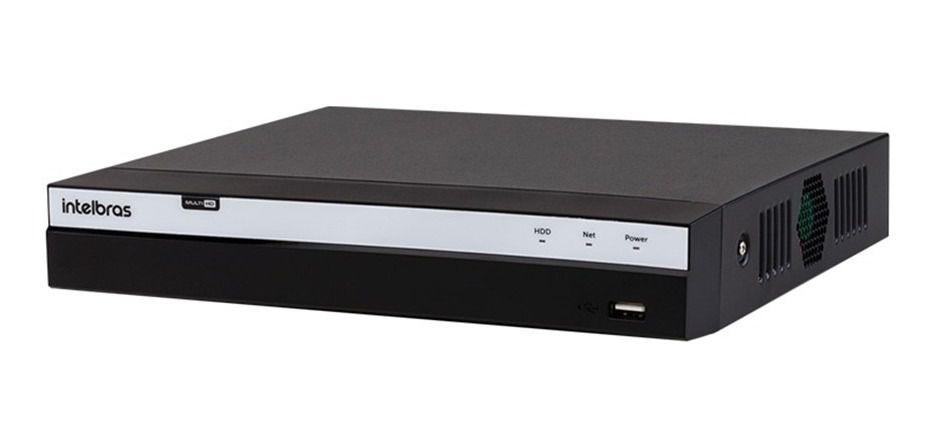 DVR Intelbras Full HD MHDX 3116 16 Canais 4MP Lite IP Sem HD