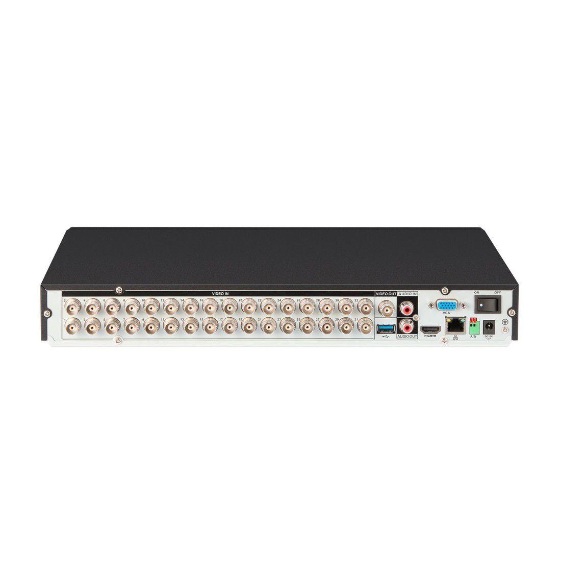 DVR Intelbras Full HD MHDX 3132 32 Canais 5MP Lite Sem HD