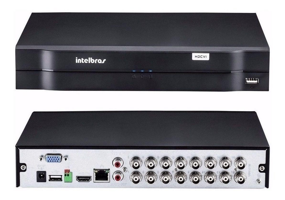 DVR Intelbras MHDX 1116 MultiHD 16 Canais 1080p Lite Sem HD