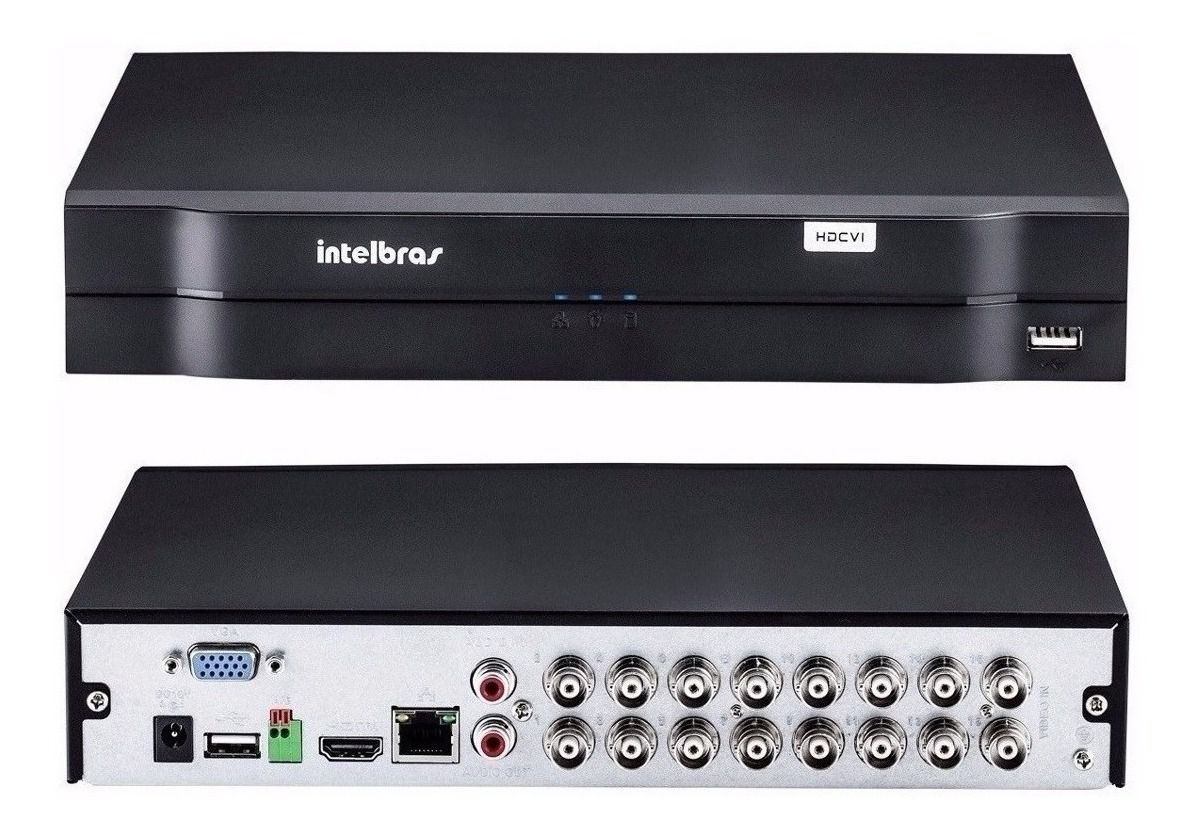 DVR Intelbras MHDX 1116 MultiHD 16 Canais HD 02 TB Purple