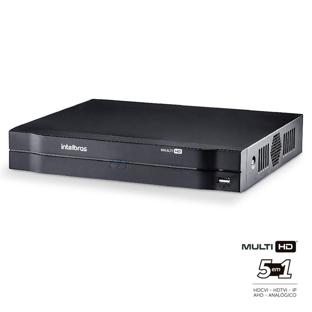 DVR Intelbras MHDX 1116 MultiHD 16 Canais HD 08 TB Purple