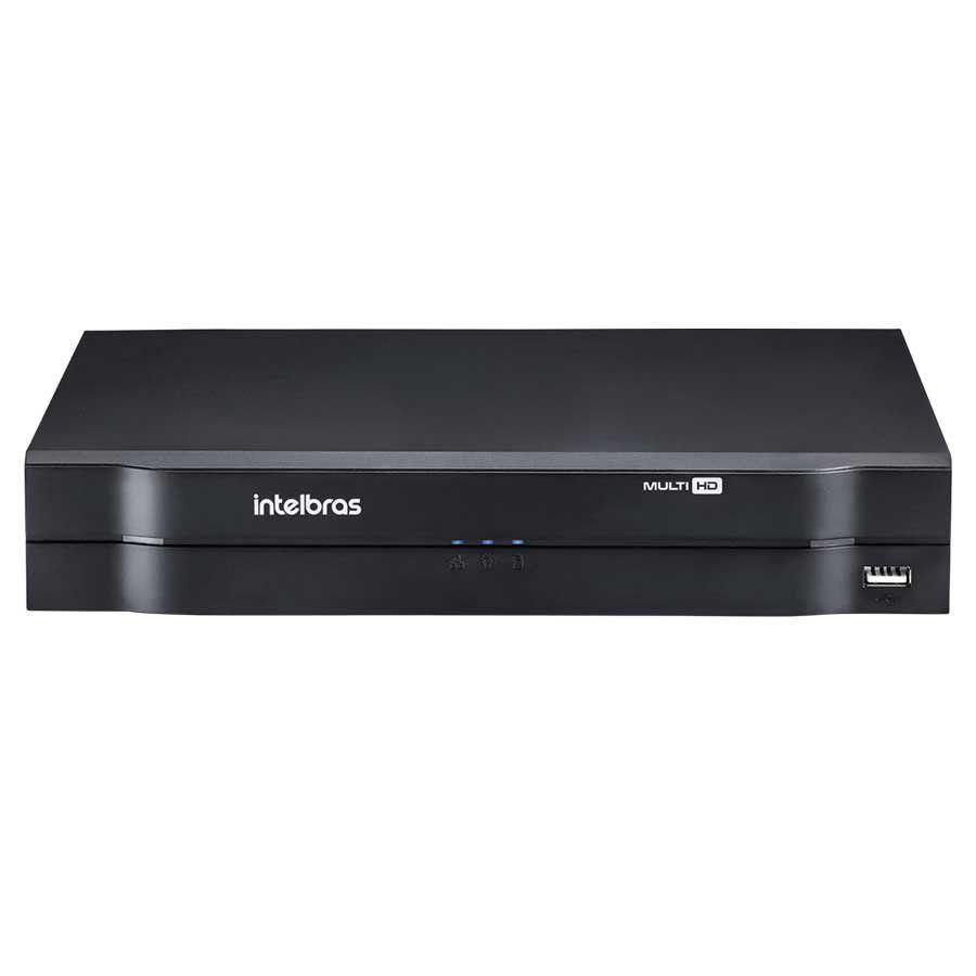DVR Intelbras MHDX 1104 MultiHD 4 Canais 1080p HD 8 TB Purple