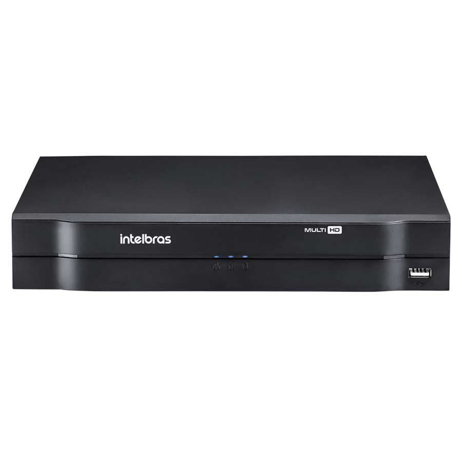 DVR Intelbras MHDX 1104 MultiHD 4 Canais 1080p HD 10 TB Purple