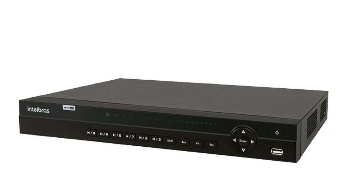 DVR MultiHD Intelbras MHDX1132 32 Canais 1080p HD 8TB Purple