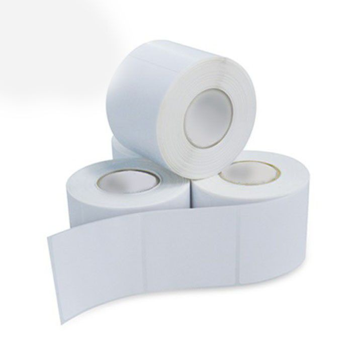 Etiqueta Adesiva Térmica Branca 40x40 para Balança