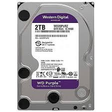 Hd Interno Wd Purple 2 TB Surveillance Sata 5400 Tf WD20PURZ