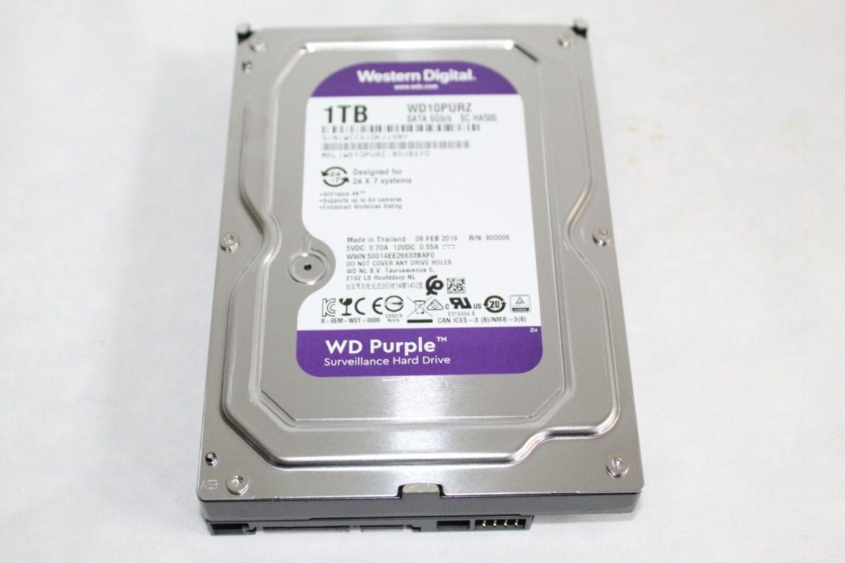 Hd Interno Wd Purple 6 TB Surveillance Sata 5400 Tf WD60PURZ