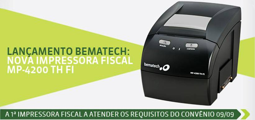 Impressora Térmica Fiscal Bematech MP 4200 TH FI II