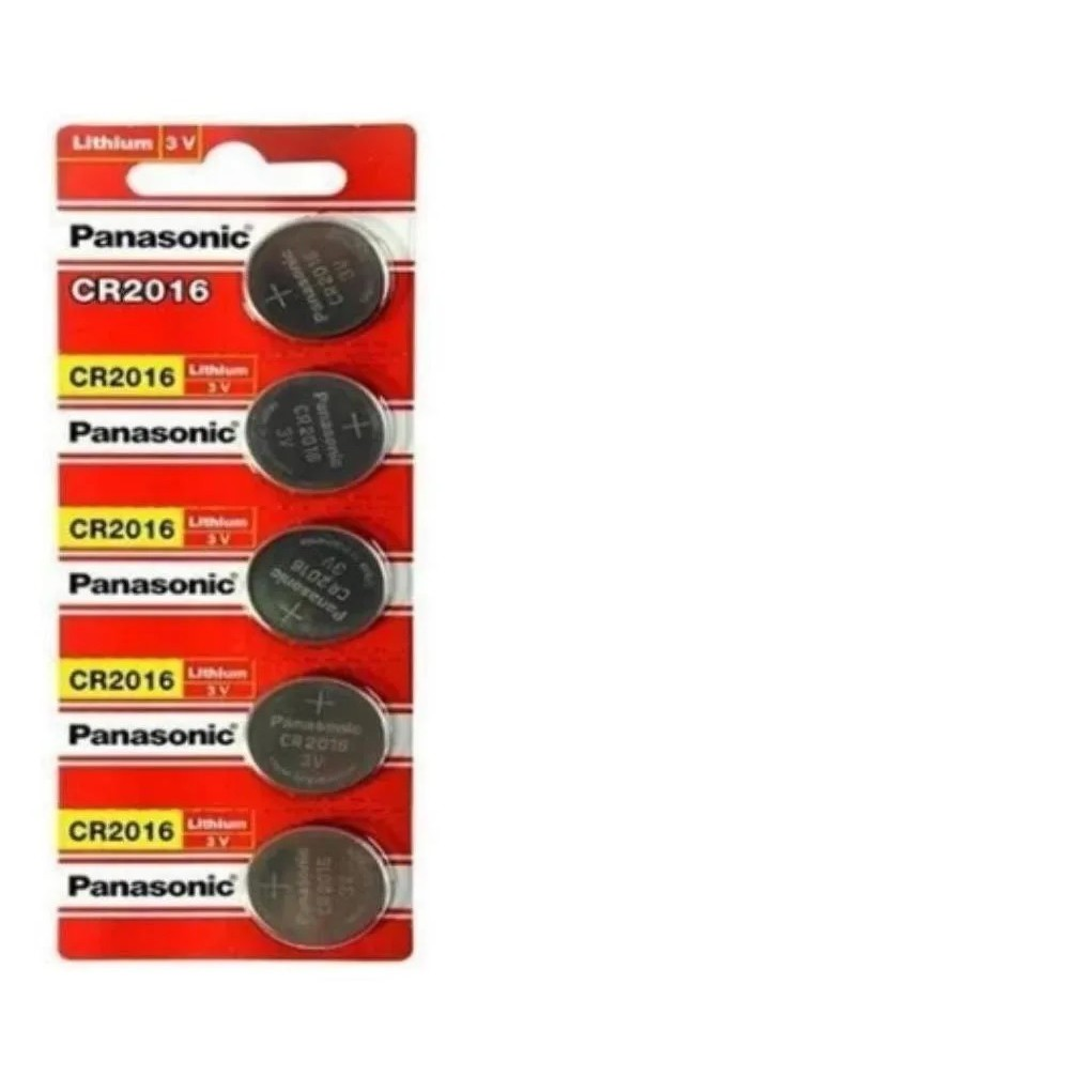 Kit 10 Bateria Panasonic Cr2016 3v DL2016 Lithium Original