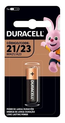 Kit 10 Pilha Alcalina Mn21A23 Duracell Bateria 12v Controle