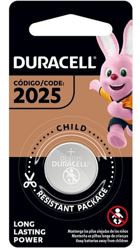 Kit 12 Baterias Botao Dl2025 Cr2025 Duracell 3v Pilha Moeda