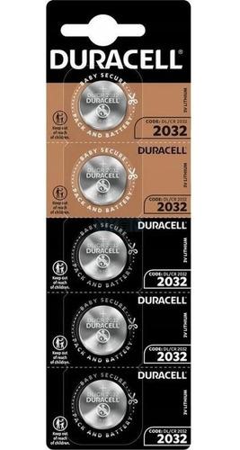 Kit 15 Bateria CR2032 3v Duracell Pilha Moeda Botão Litio