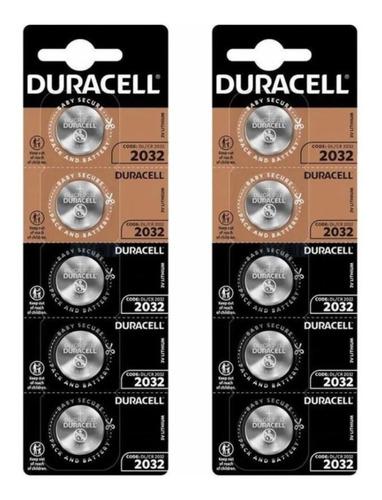 Kit 20 Bateria CR2032 3v Duracell Pilha Moeda Botão Litio