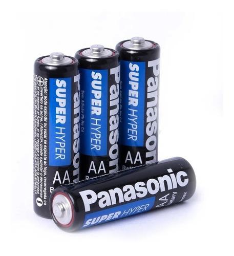 Kit 20 Pilhas Aa Panasonic Comum