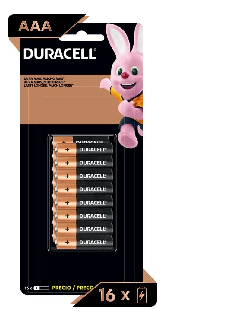 Kit 32 Pilhas Aaa Palito Alcalina Duracell Econopack