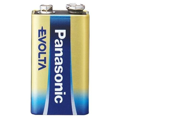 Kit 3 Bateria 9V Alcalina Premium Evolta Panasonic Longa Duração
