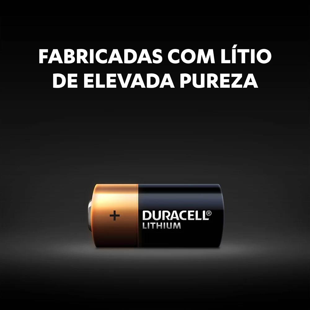 Kit 3 Pilha Cr123 Lítio Duracell 3v DL123 Original
