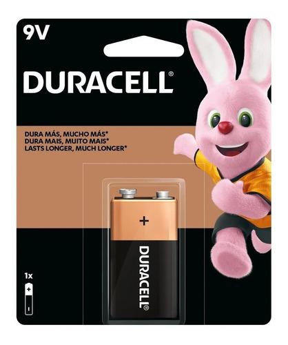 Kit 4 Bateria 9v Alcalina Duracell Pilha Original