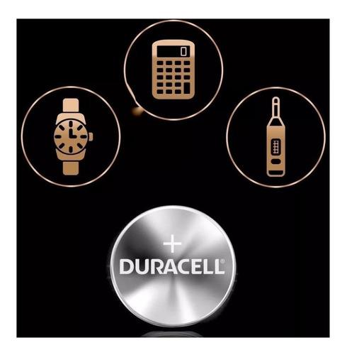 Kit 4 Baterias Cr2025 Dl2025 Duracell 3v Pilha Botão Moeda