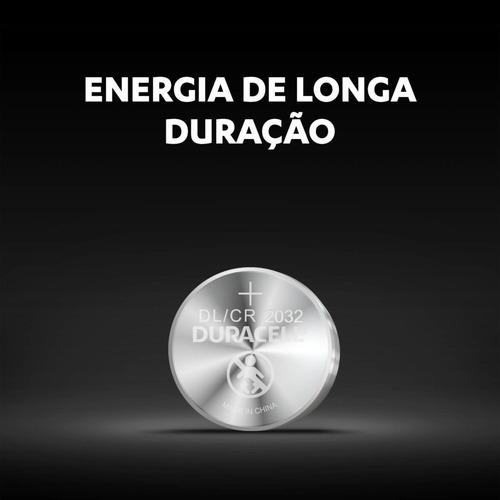 Kit 8 Bateria Dl2032 Cr2032 Botão Duracell 3v Moeda Original