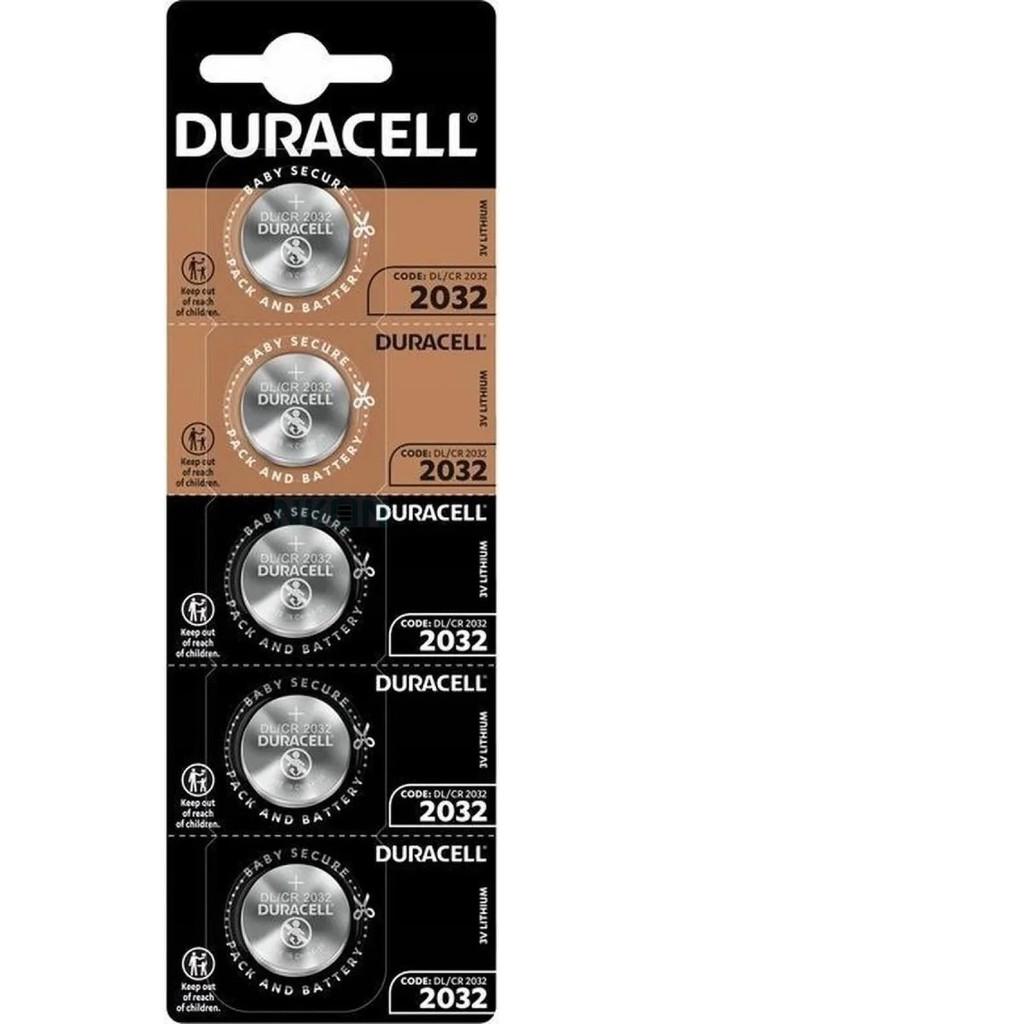 Kit Bateria CR2032 3v Duracell Pilha Moeda Botão Litio C/20 Unidades