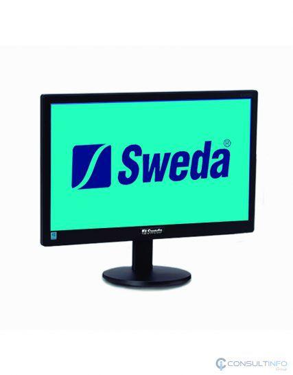 Monitor LED Widescreen 15.6 Sweda Preto