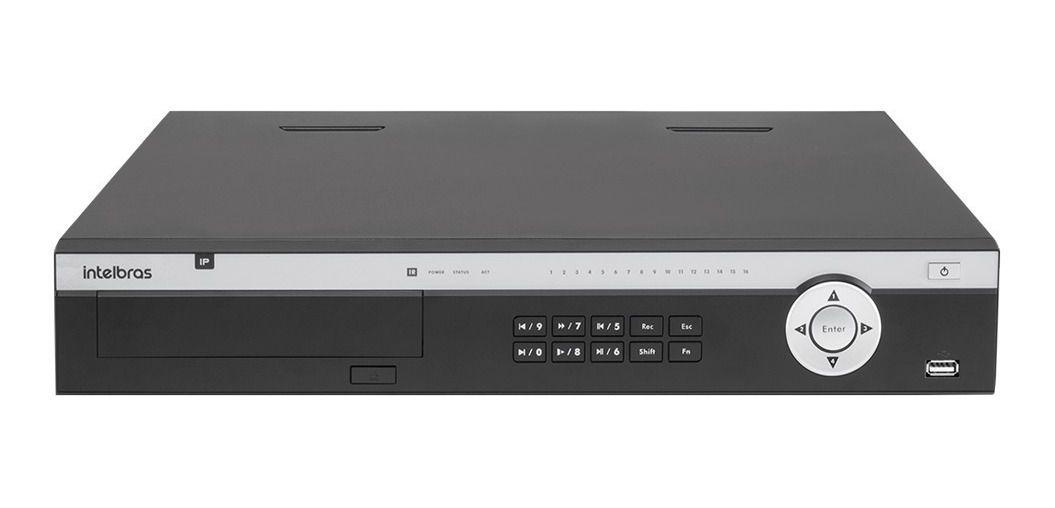 Nvr Gravador Vídeo 24 Canais Nvd 5124 Intelbras HD 6TB Purple