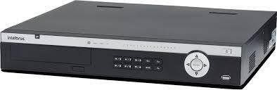 Nvr Gravador Vídeo 24 Canais Nvd 5124 Intelbras HD 8TB Purple